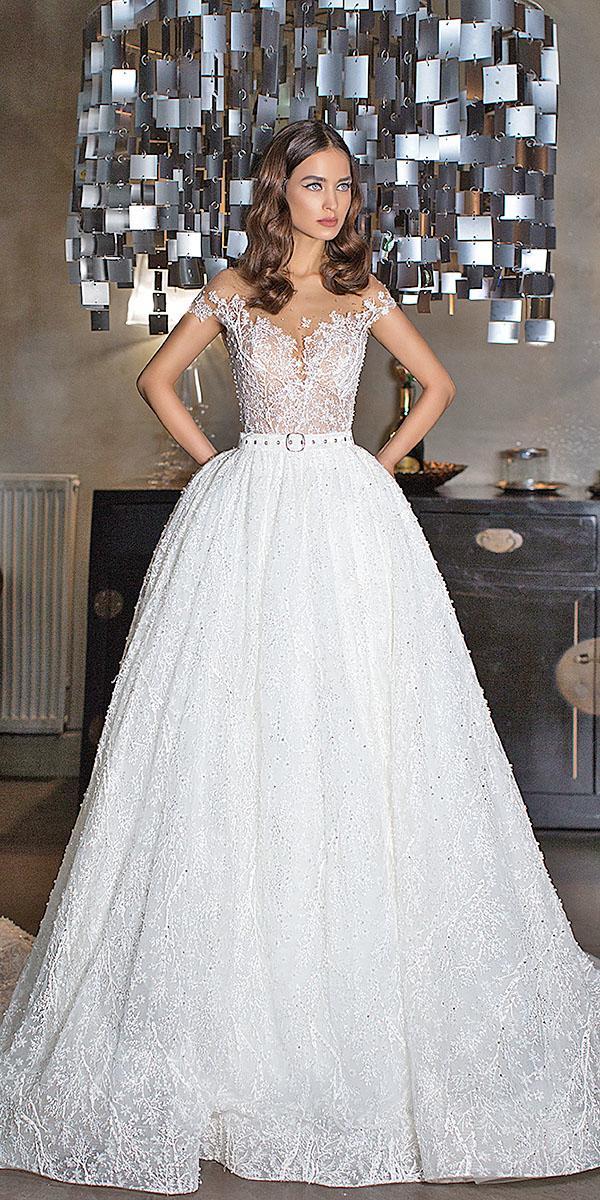 lorenzo rossi wedding dresses a line off the shoulder sweetheart floral embellishment