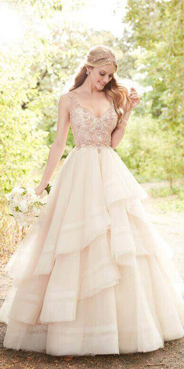 martina liana wedding dresses a line beaded top sleeveless blush