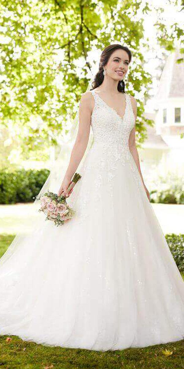 martina liana wedding dresses a line v neckline floral sleeveless