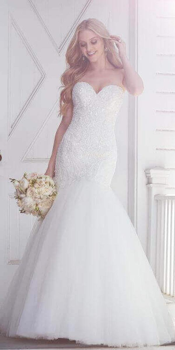martina liana wedding dresses mermaid sweetheart lace beaded