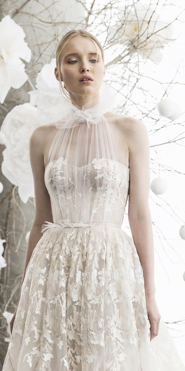 mira zwillinger wedding dresses 2018 sweetheart floral appliques delicate
