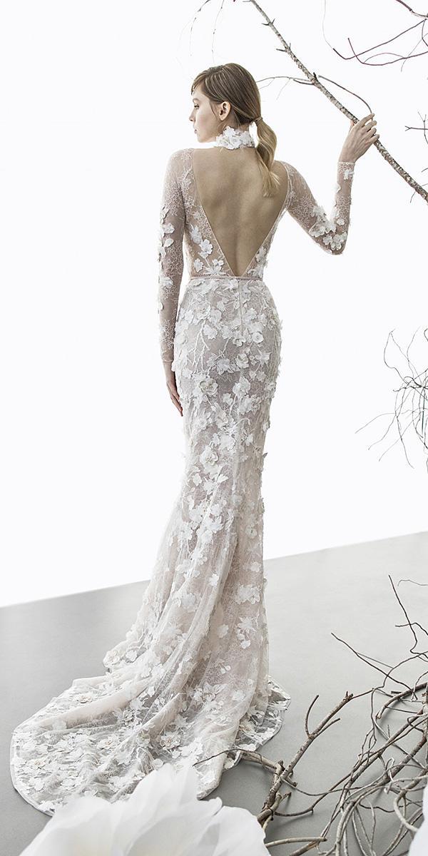 mira zwillinger wedding dresses mermaid v back floral appliques