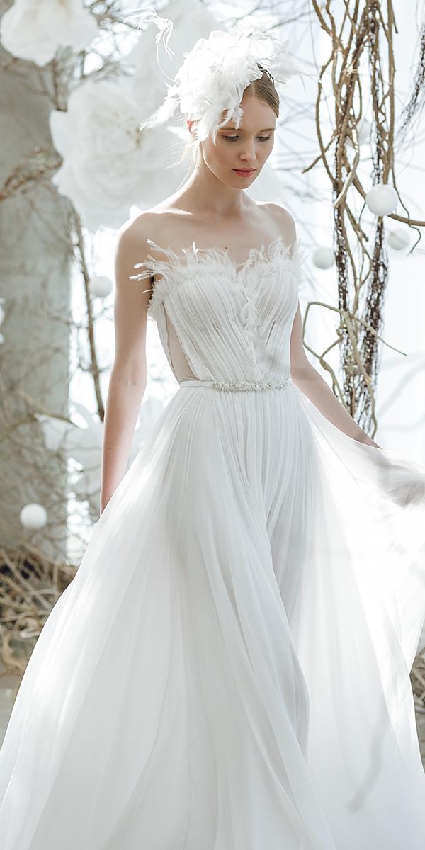 mira zwillinger wedding dresses sweetheart simple delicate 2018