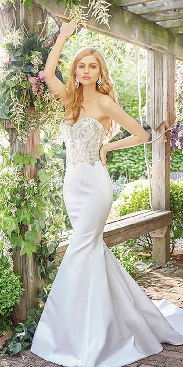 modern wedding dresses mermaid sweetheart beaded satin skirt 2017 alvina valenta