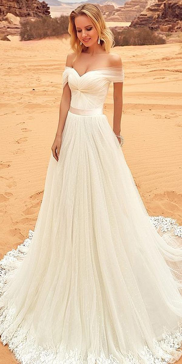 oksana mukha 2018 wedding dresses a line sweetheart off the shoulder simple