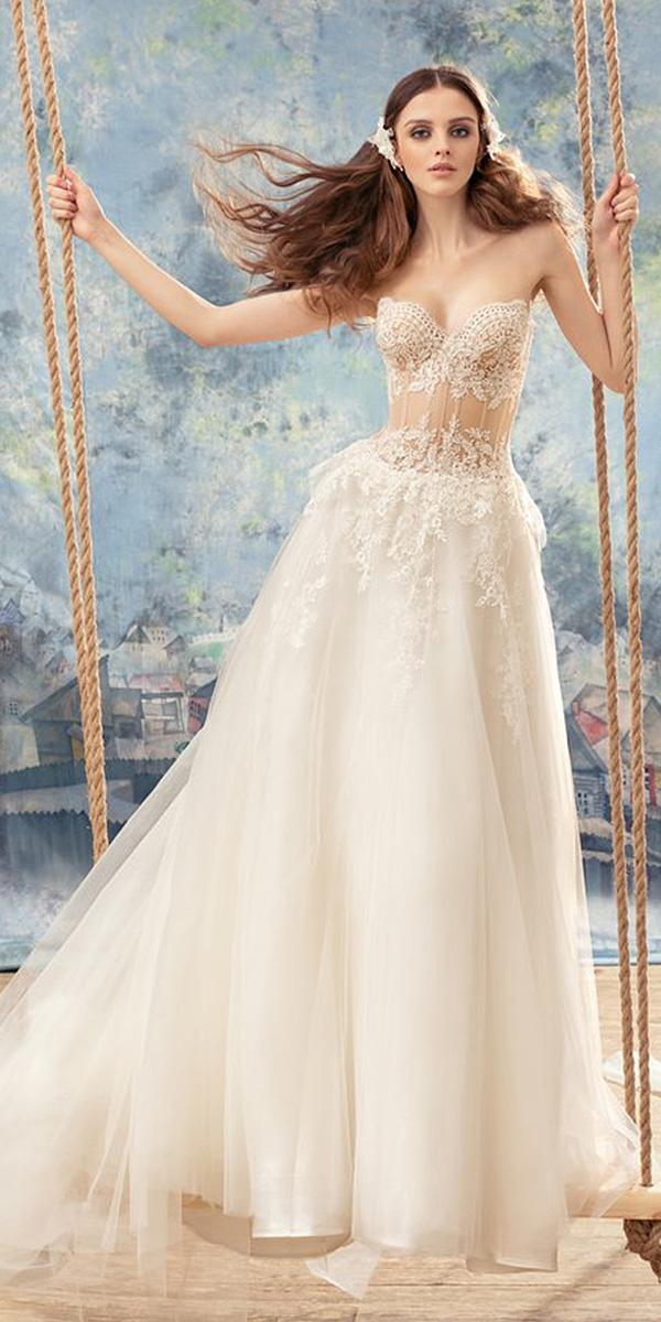 papilio wedding dresses a line sweetheart lace embellishment 2017
