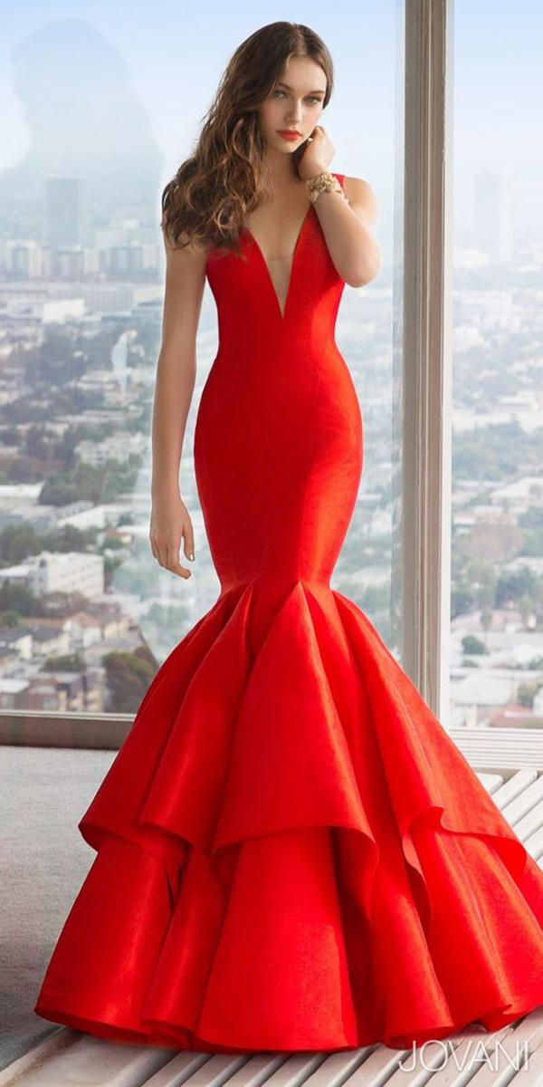 12 your lovely red wedding dresses wedding dresses guide for Simple red wedding dresses