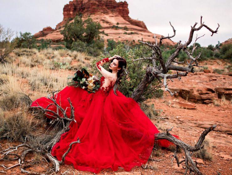 red wedding dresses photography elena