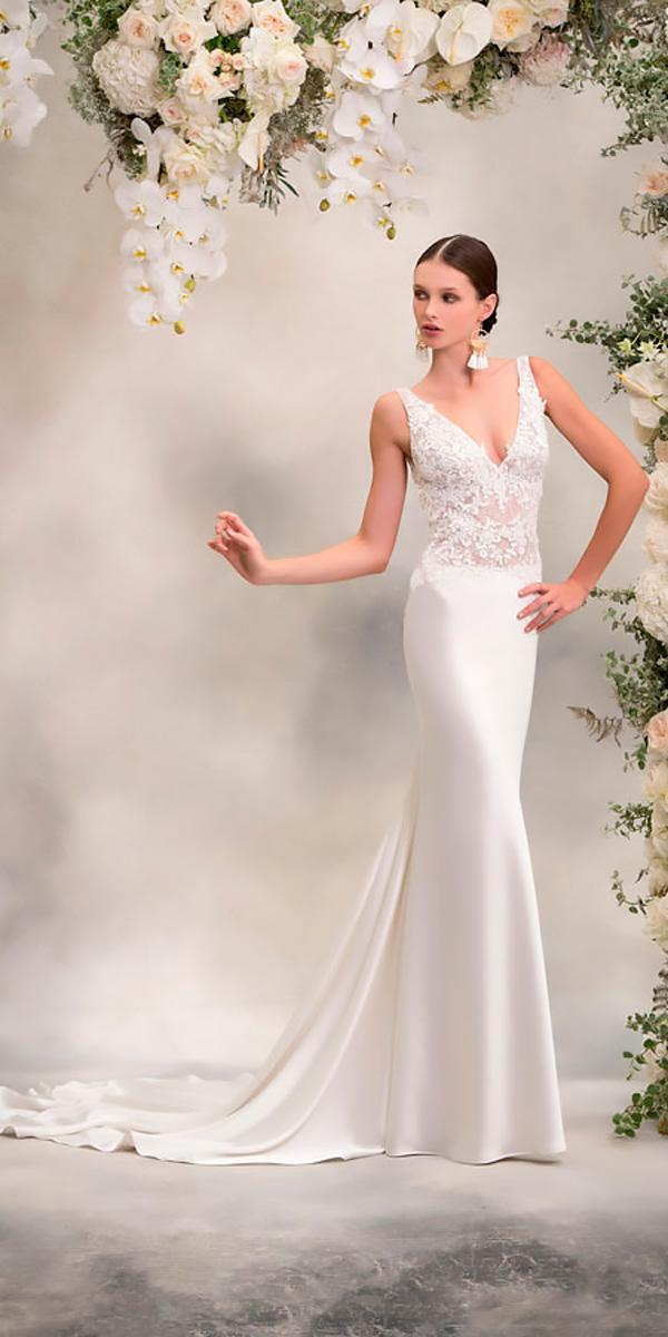 straight sleeveless lace v neckline anna georgina wedding dresses style angelina