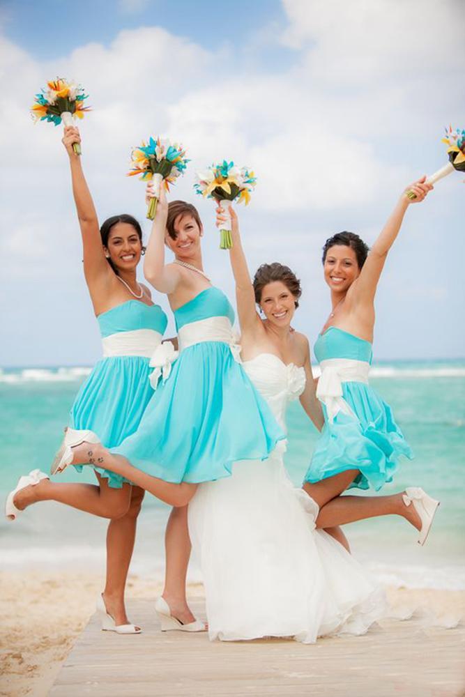 teal bridesmaid dresses short straight across jf hannigan