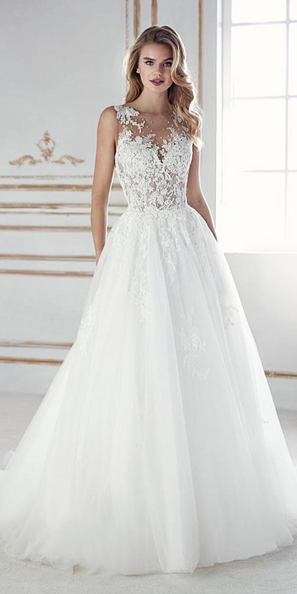 a line sweetheart lace embellishment 2018 st patrick wedding dresses