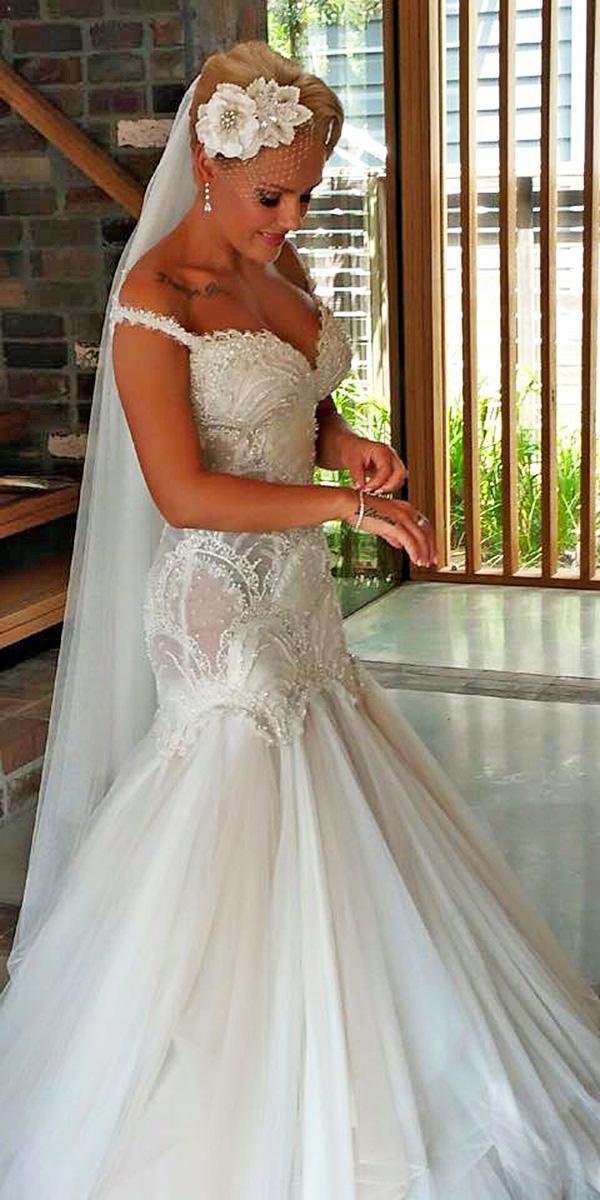 9 pretty azzaria wedding dresses for you wedding dresses for Wedding dress material guide