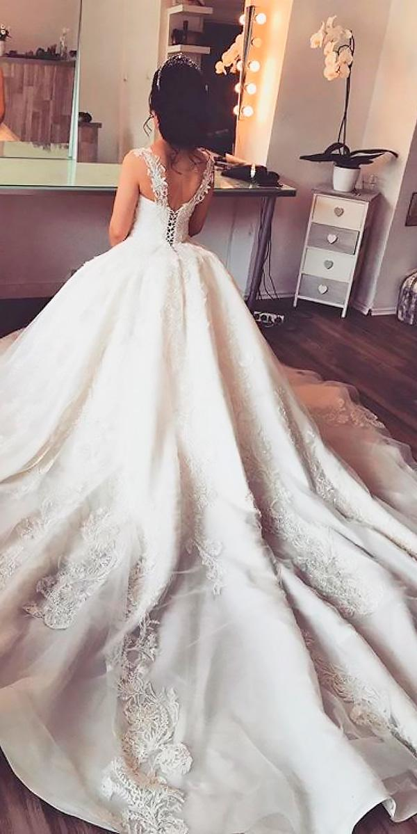 ball gown lace with straps disney princess wedding dresses sima couture