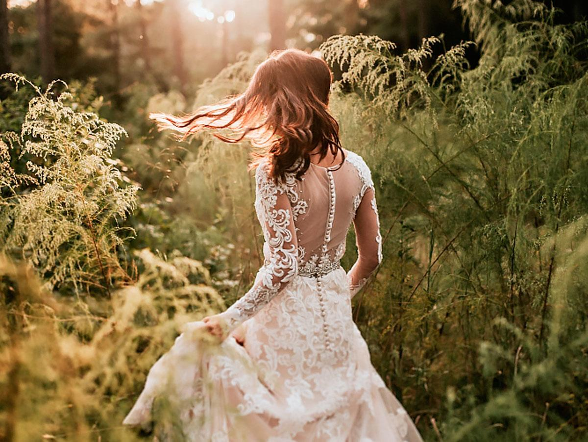 boho wedding dresses with sleeves featured april and paul