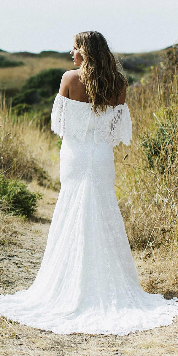 daughters of simone bohemian wedding gowns back lace embellishment