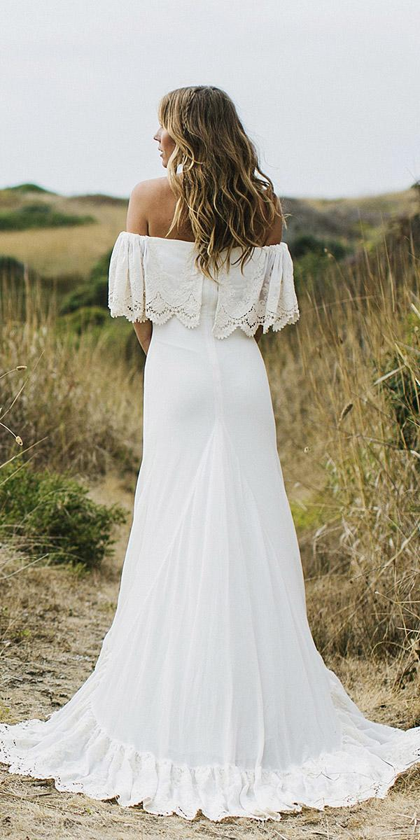 daughters of simone bohemian wedding gowns back silk fabrics