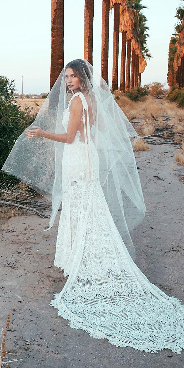 daughters of simone bohemian wedding gowns low back sleeveless with train