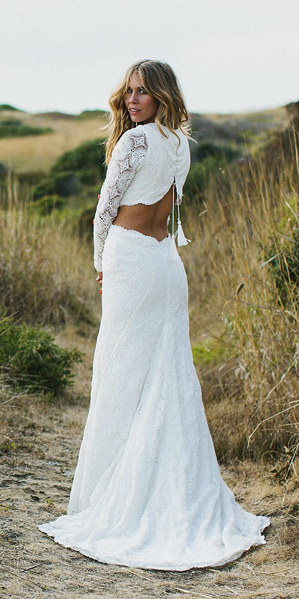 daughters of simone bohemian wedding gowns open back full lace
