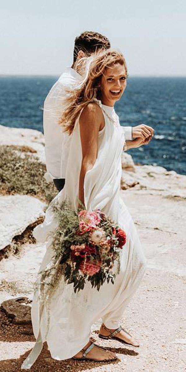 beach destination wedding dresses sheath sleeveless beach marquardt photography