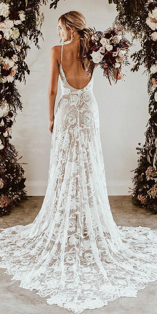 beach destination wedding dresses sheath with spaghetti straps full lace grace loves lace