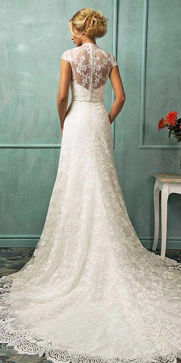24 Lovely Lace Back Wedding Dresses | Wedding Dresses Guide