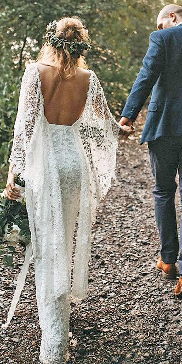 lace beach wedding dresses low back full lace boho grace loves lace
