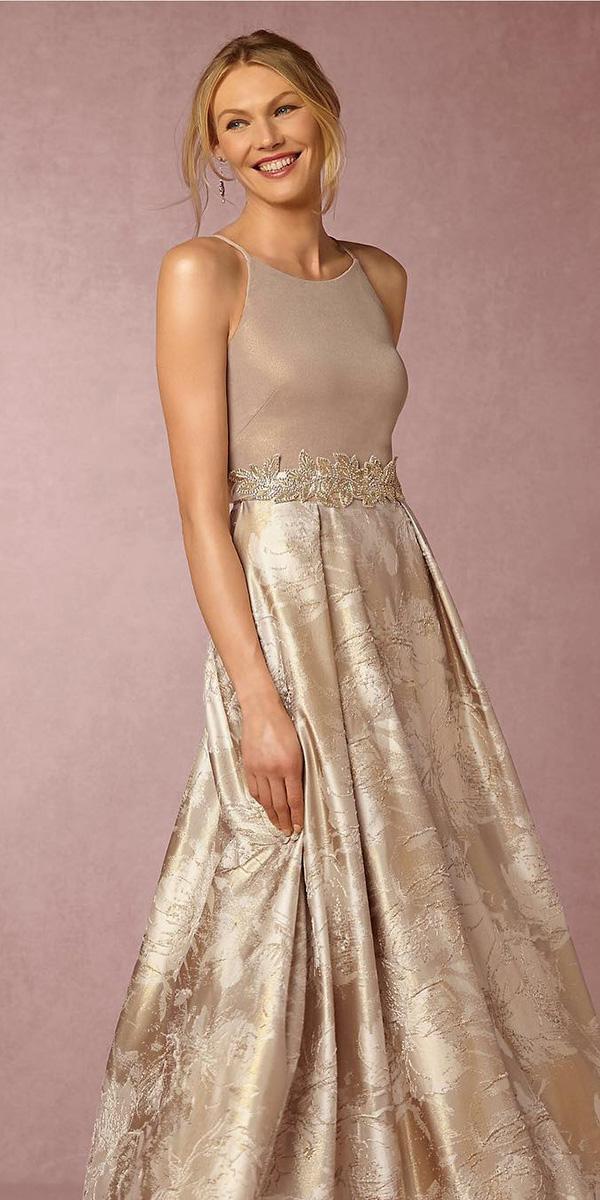 long mother of the bride dresses jewel neckline long skirt aidan mattox