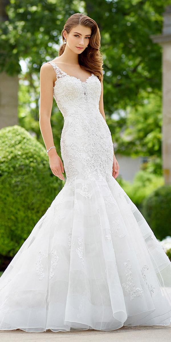 martin thornburg wedding dresses mermaid full lace mon cheri 2018