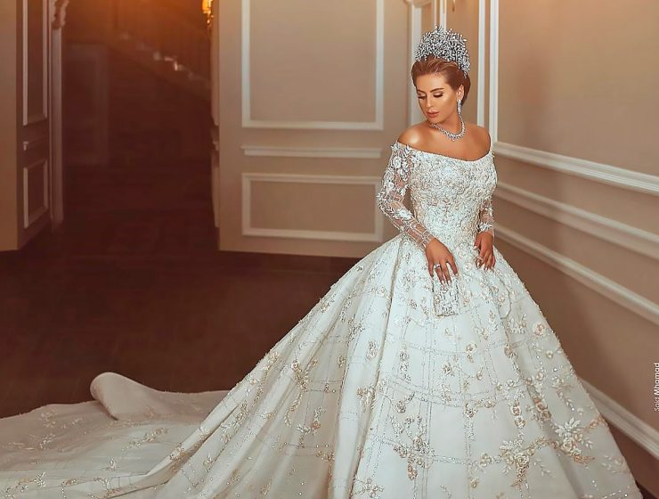 princess wedding dresses said mhamad featured