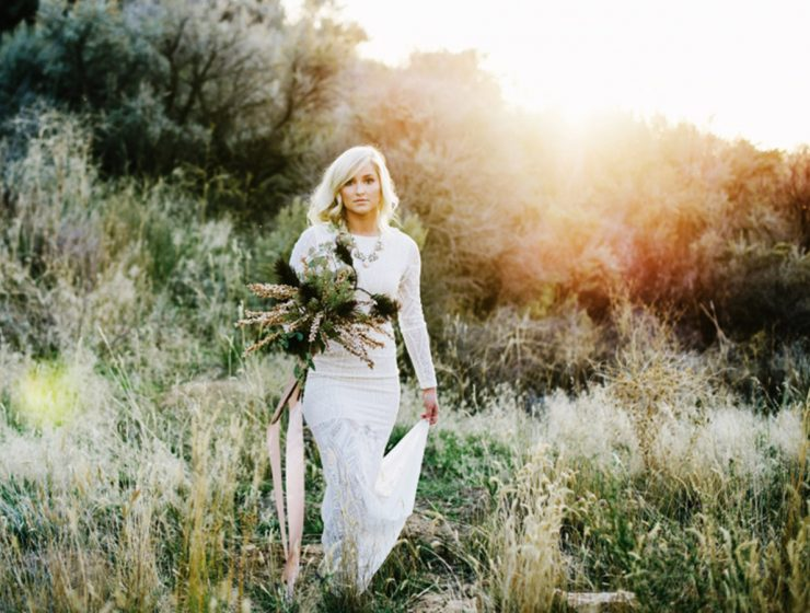 simple wedding dresses with sleeves featured1