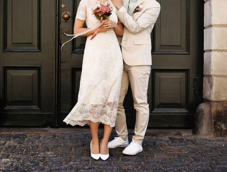 tea length wedding dresses featured
