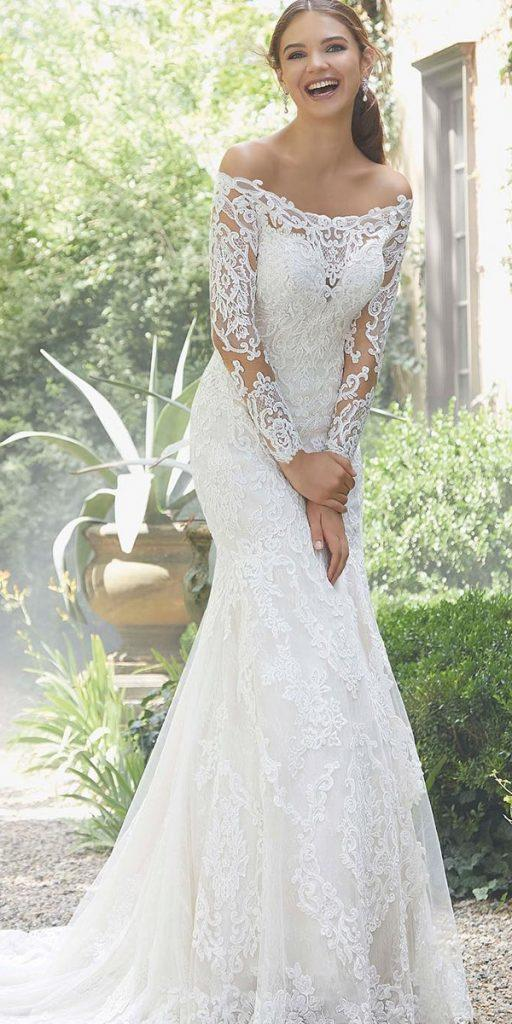 Trumpet Wedding Gowns Lace