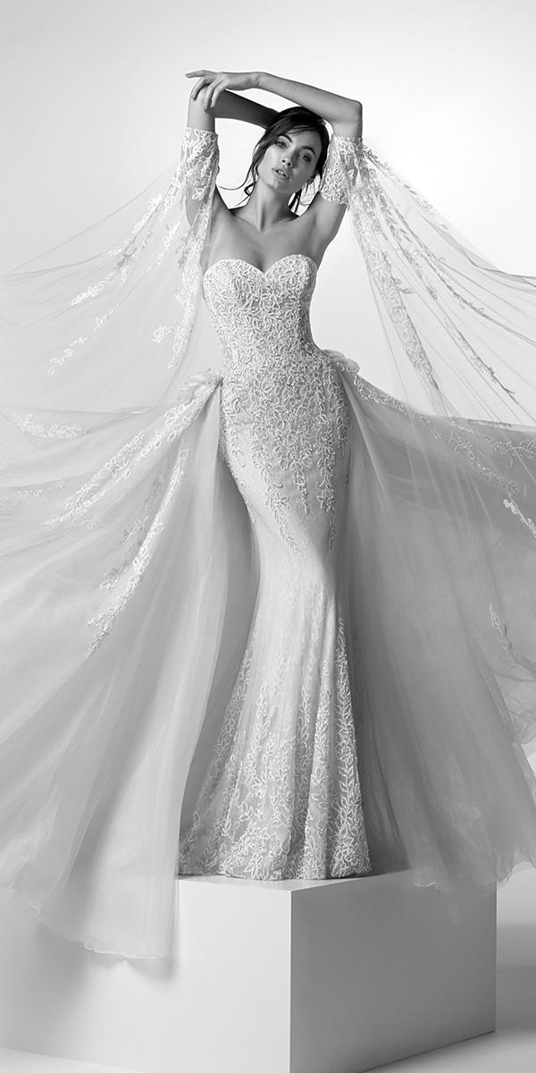 alessandra rinaudo wedding dresses trumpet sweetheart strapless lace detached sleeves 2019