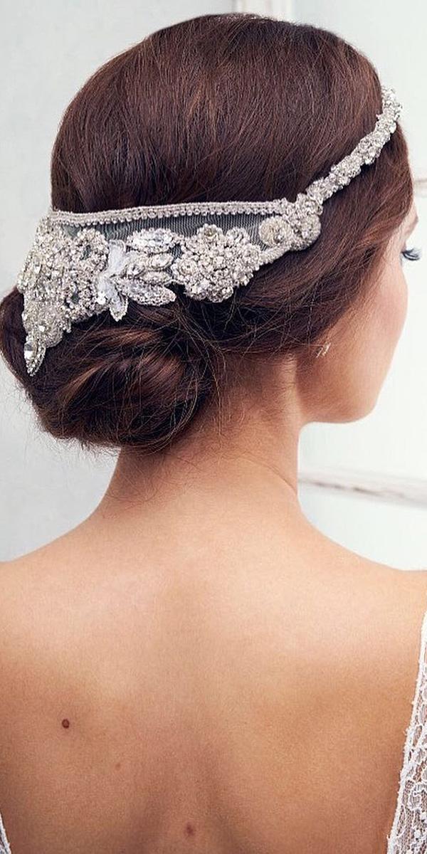 anna campbell wedding dresses 2018 beaded head accessory