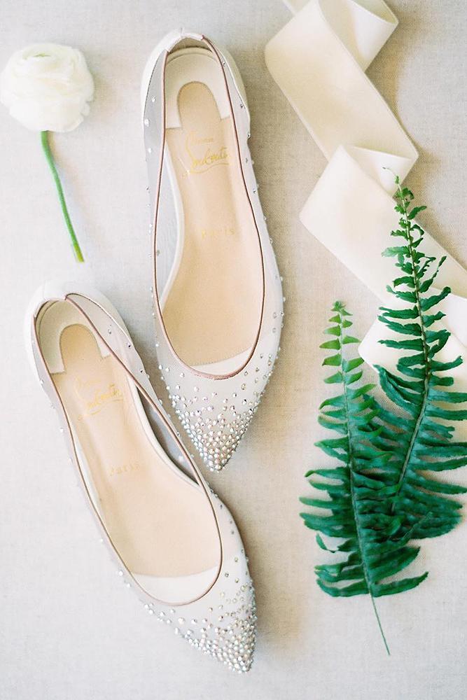 comfortable wedding shoes beaded flats beach rachel solomon photo