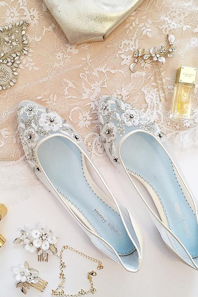 comfortable wedding shoes flats beaded floral alexis june weddings