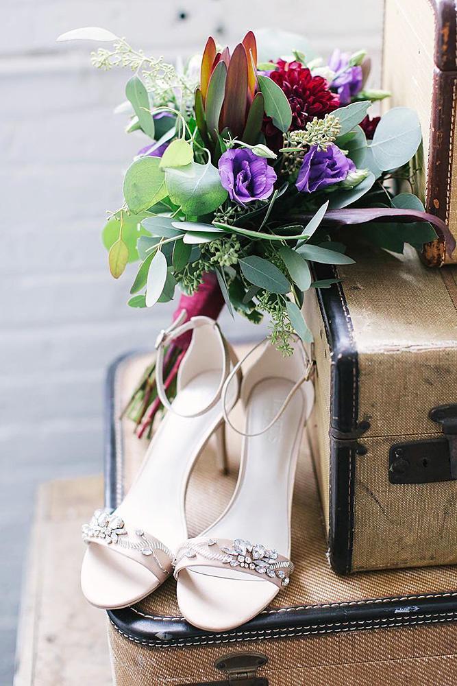 comfortable wedding shoes high heels blush davids bridal