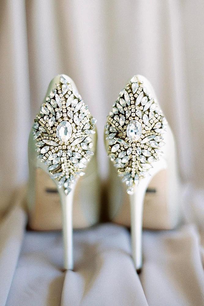 comfortable wedding shoes high heels sparkle rachel solomon photo