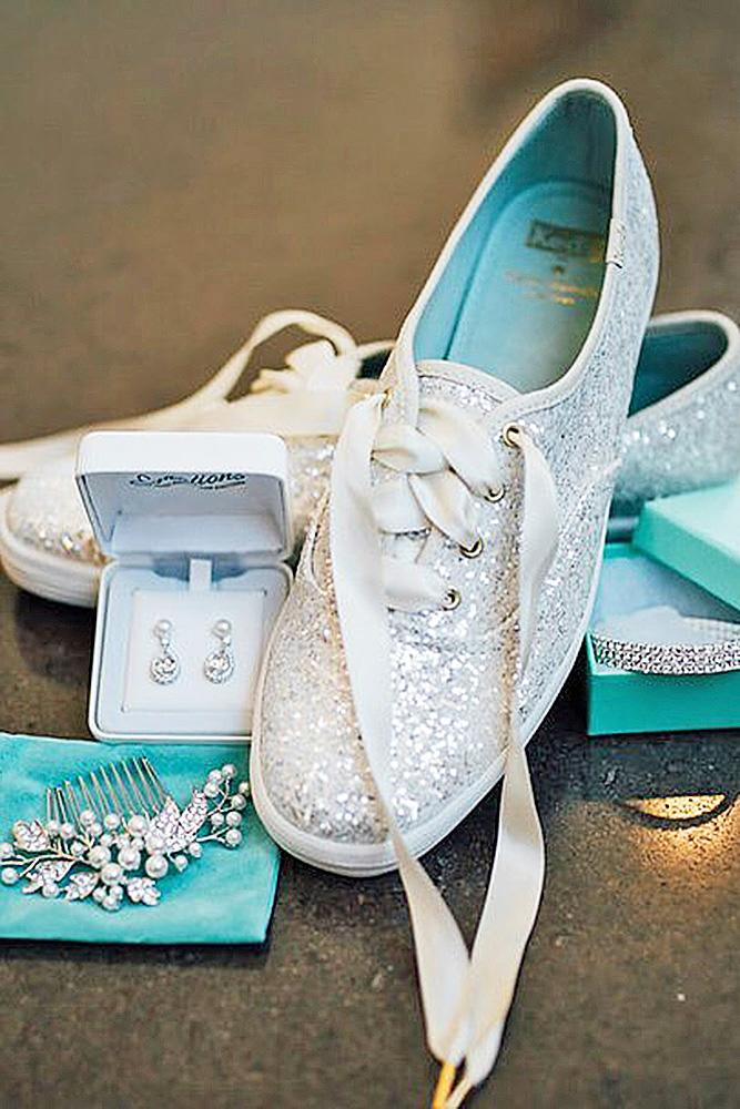 comfortable wedding shoes sparkle white keds casablanca bridal