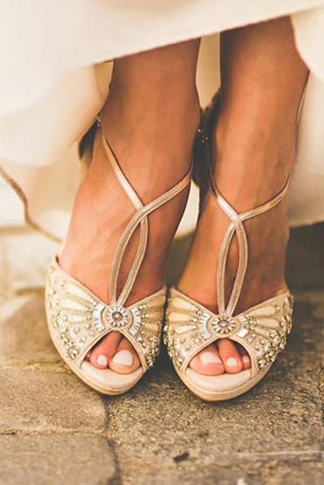 comfortable wedding shoes vintage sparkle emmy shoes
