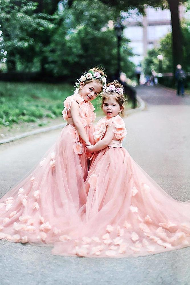 country flower girl dresses 3d floral pink anthony vazquez photography
