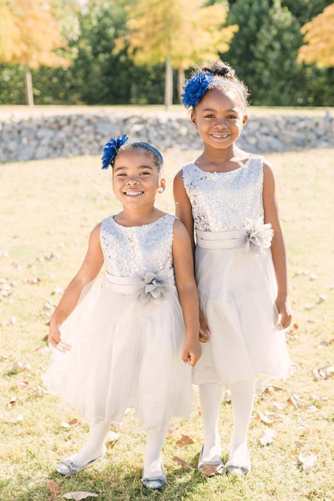 country flower girl dresses simple sequins silver tulle skirt amy hutchinson photography