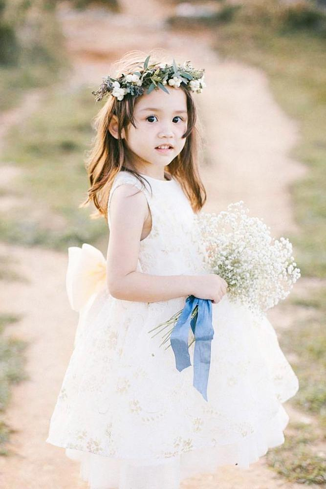 country flower girl dresses sleeveless with bow lukas chan photolab