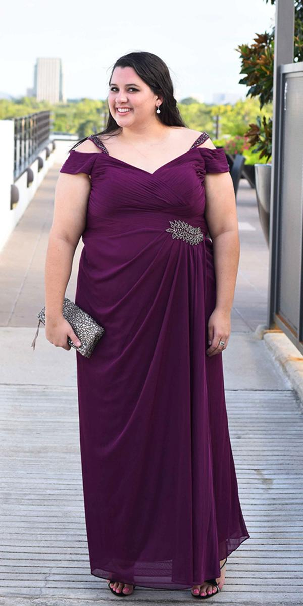 18 stunning plus size mother of the bride dresses for Plus size wedding dresses near me