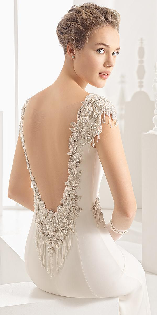 rosa clara wedding dresses 2018 beaded v back floral embroidered 2018
