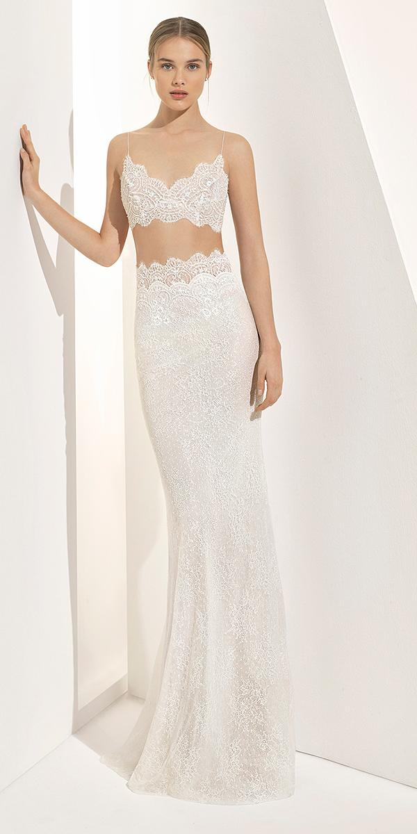 rosa clara wedding dresses 2018 detached skirt with straps full delicate lace 2018