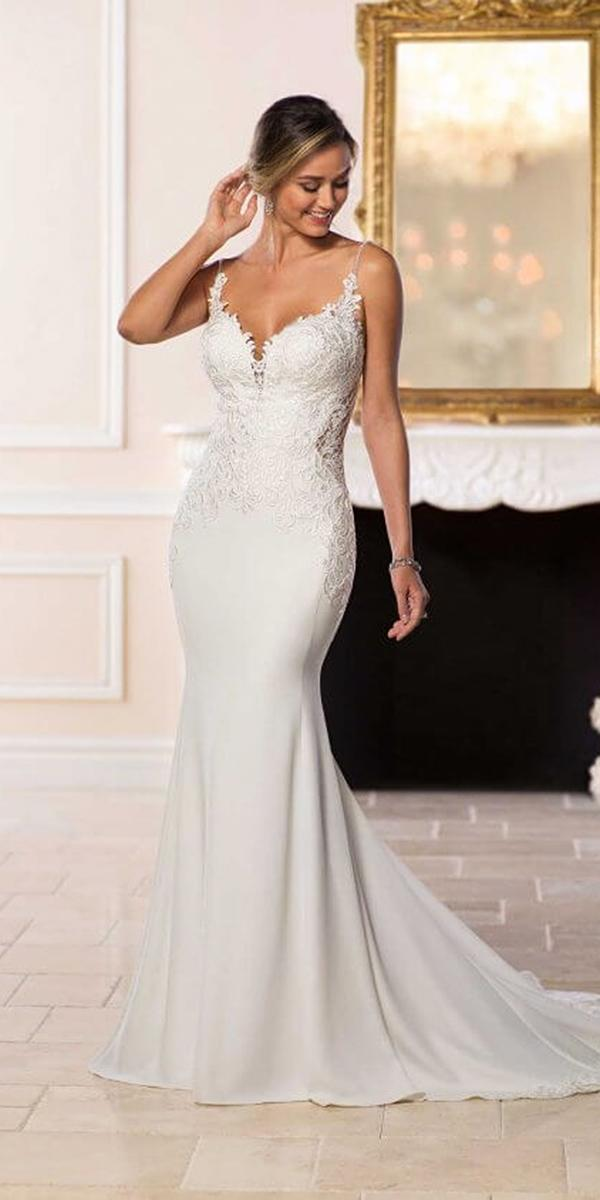 stella york wedding dresses mermaid sweetheart with straps