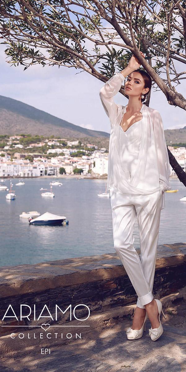 ariamo wedding dresses jumpsuit modern 2018