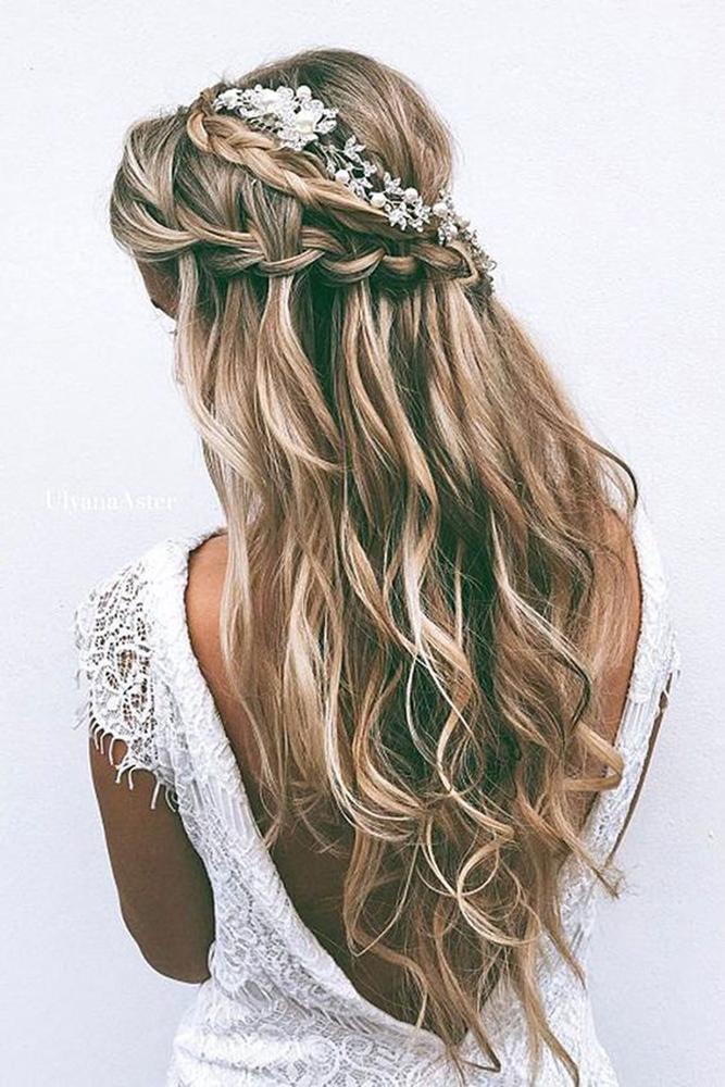 camo bridesmaid dresses hair long styles by reneemarie