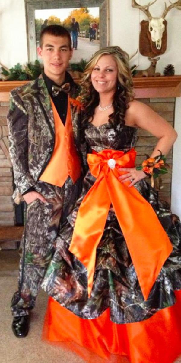 9 Camo Wedding Dresses For the Modern Bride: Thinking Outside The ...